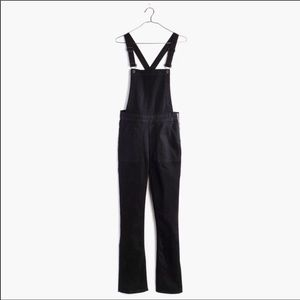 Madewell XS Black Denim Overalls!
